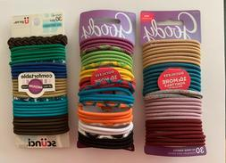 GOODY OUCHLESS No Metal Elastics Hair Ties Ponytail Holder