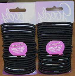 ouchless ponytail hair elastic no metal 48