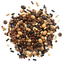 Over 700 Pieces Wood Beads for Jewelry Making with Free Samp