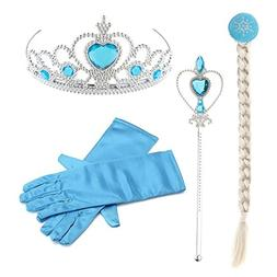Hpwai Princess Little Girls Kids Frozen Elsa Party Dress Up