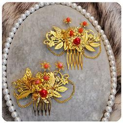 set of 2 charming traditional chinese wedding