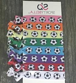soccer hair accessories soccer hair ties elastics