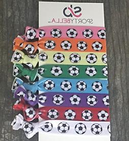 Infinity Collection Soccer Hair Accessories, Soccer Hair Tie