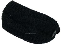 Best Winter Hats Solid Color Cable & Garter Stitch Knit Head