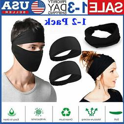 Sports Yoga Running Headband Elastic Wide Stretch Hair Band