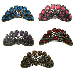 Large Barrette Wing Spreading Phoenix Hair Clip for Women Th