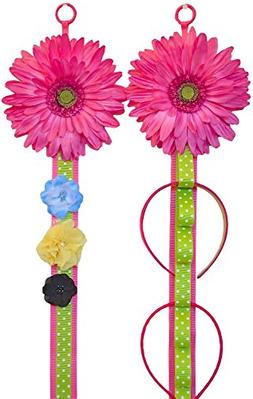 Wall Hanging Headband Holder and Hair Bow Accessories Displa