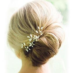 Venusvi Wedding Hair Pin Set Hair Accessories for Bridal