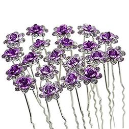 •Wedding hair pin hair accessories for Women and girls in
