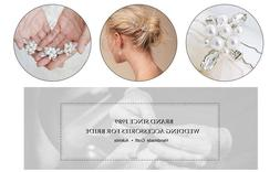 Aukmla Wedding Hair Pins Bridal, Bridal Party for Women and