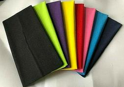 WIDE Lycra Headbands 4 3/4 wide Great colors VERY STRETCHY,