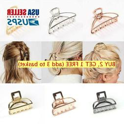 Women Fashion Hair Accessories Metal Stylish Two Size L/S Ha
