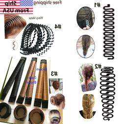 Women Hair DIY Tool French Braiding Tool Braided Hair Access