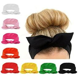 Habibee Women Headbands Turban Headwraps Hair Band Bows Acce