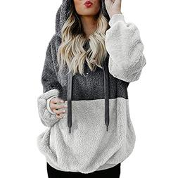 Women Hoodie, Toimoth Women Hooded Sweatshirt Winter Warm Zi