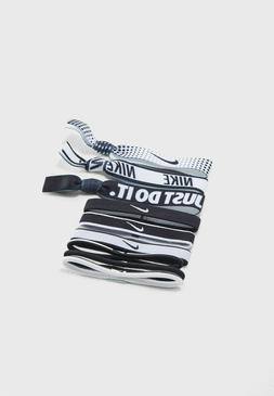 Nike Women's 9 Pack Mixed Ponytail Logo Holders  Hair Access