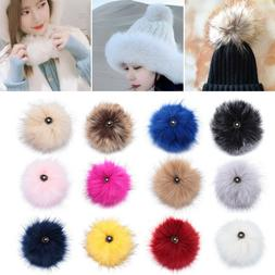 Women's Fashion Knitted Cap Hats Decor Bags Accessories Pomp