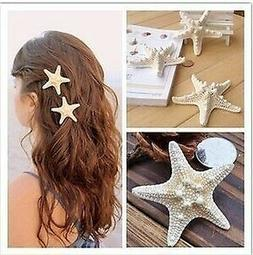 Women's Starfish Hair Clip Beach Barrettes Leisure Charm Hai