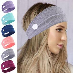 Yoga Headband Sweat-absorbent Breathable Stretch Holder Butt